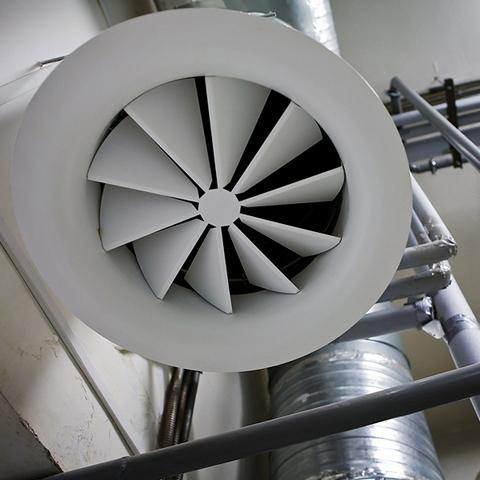 Luchtbehandeling ventilatiesystemen